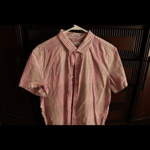 Calvin Klein short sleeve summer button up